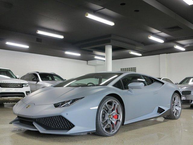 Used Lamborghini Huracan 724 MY17 LP610-4 D-CT AWD AVIO, 2016 Lamborghini Huracan 724 MY17 LP610-4 D-CT AWD AVIO Grey 7 Speed Sports Automatic Dual Clutch