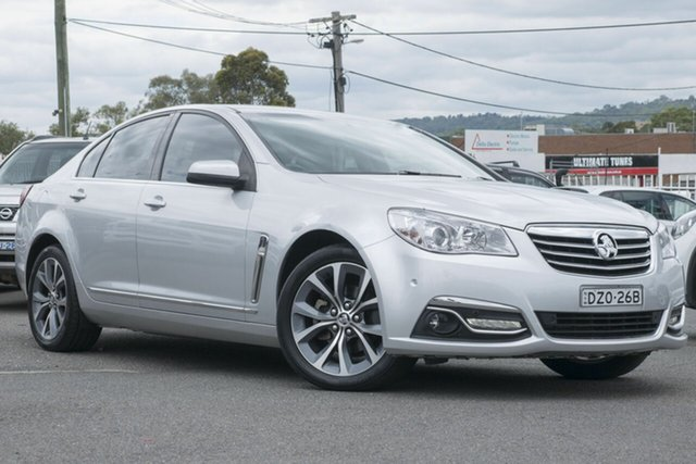 Used Holden Calais VF MY14 , 2014 Holden Calais VF MY14 Silver 6 Speed Sports Automatic Sedan