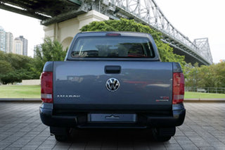 2017 Volkswagen Amarok 2H MY18 TDI420 4MOTION Perm Core Grey 8 Speed Automatic Cab Chassis.