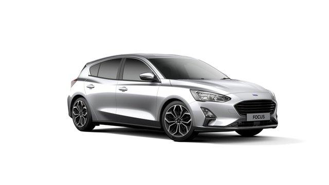 New Ford Focus SA 2019MY Titanium, 2018 Ford Focus SA 2019MY Titanium Moondust Silver 8 Speed Automatic Hatchback
