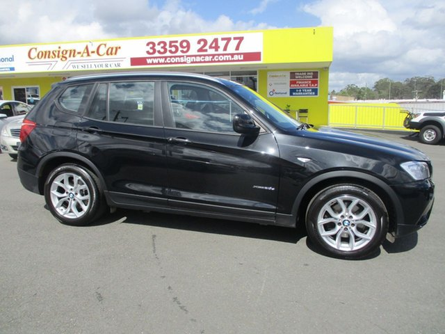 Used BMW X3 F25 MY1011 xDrive20d Steptronic, 2011 BMW X3 F25 MY1011 xDrive20d Steptronic Black 8 Speed Automatic Wagon