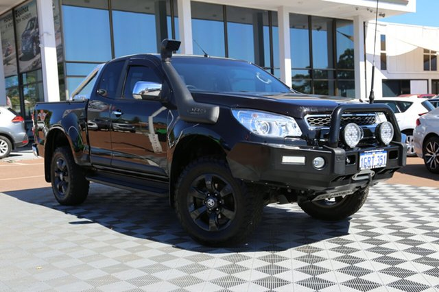 Used Holden Colorado RG MY15 LTZ Space Cab, 2015 Holden Colorado RG MY15 LTZ Space Cab Black/Grey 6 Speed Sports Automatic Utility