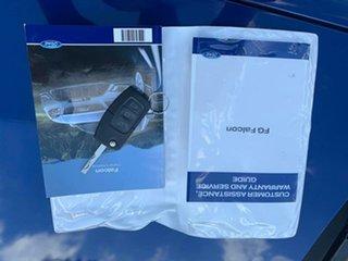 2010 Ford Falcon FG G6 50th Anniversary Blue 6 Speed Sports Automatic Sedan