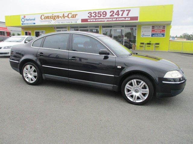 Used Volkswagen Passat GP MY2003 SE V6, 2003 Volkswagen Passat GP MY2003 SE V6 Black 5 Speed Sports Automatic Sedan