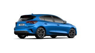 2018 Ford Focus SA 2019MY Titanium Desert Island Blue 8 Speed Automatic Hatchback.