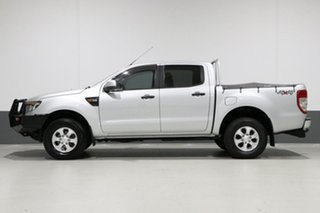 2014 Ford Ranger PX XLS 3.2 (4x4) Silver 6 Speed Automatic Dual Cab Utility