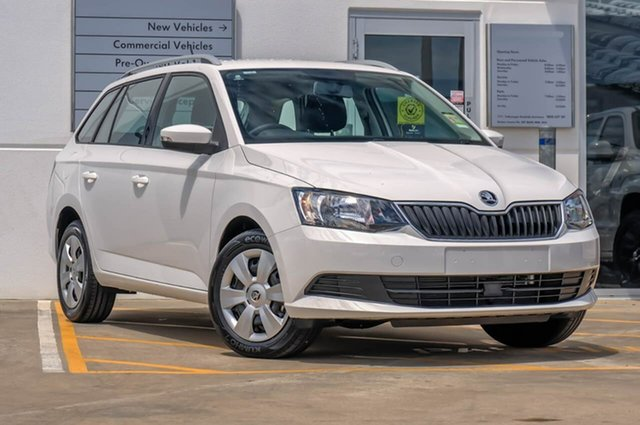 Demo Skoda Fabia NJ MY18.5 70TSI, 2018 Skoda Fabia NJ MY18.5 70TSI Candy White 5 Speed Manual Wagon