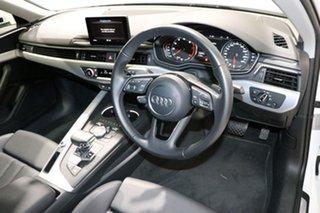 2017 Audi A4 F4 MY17 (B9) 2.0 TFSI S Tronic Sport White 7 Speed Auto Dual Clutch Sedan