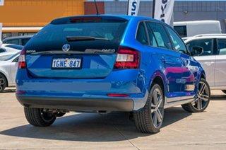 2017 Skoda Rapid NH MY17 Spaceback DSG Race Blue 7 Speed Sports Automatic Dual Clutch Hatchback.