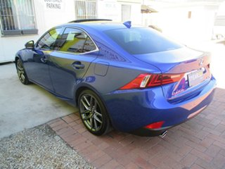 2015 Lexus IS250 GSE30R F Sport Blue 6 Speed Sports Automatic Sedan.