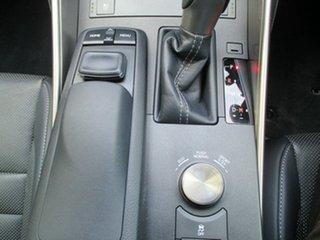 2015 Lexus IS250 GSE30R F Sport Blue 6 Speed Sports Automatic Sedan