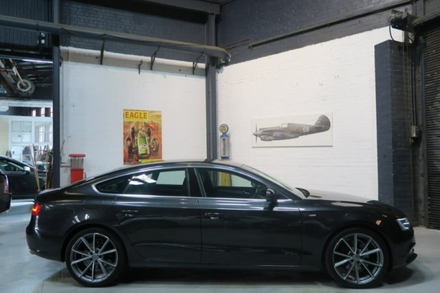 Used Audi A5 8T MY13 Sportback S tronic quattro, 2012 Audi A5 8T MY13 Sportback S tronic quattro Grey 7 Speed Sports Automatic Dual Clutch Hatchback