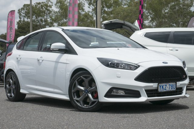 Used Ford Focus LZ ST, 2015 Ford Focus LZ ST White 6 Speed Manual Hatchback