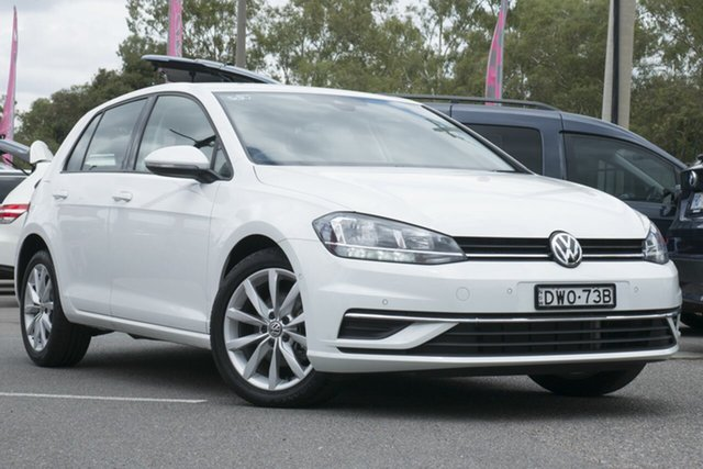 Used Volkswagen Golf 7.5 MY18 110TSI DSG Comfortline, 2018 Volkswagen Golf 7.5 MY18 110TSI DSG Comfortline White 7 Speed Sports Automatic Dual Clutch