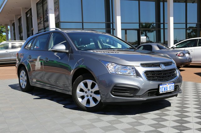 Used Holden Cruze JH Series II MY16 CD Sportwagon, 2015 Holden Cruze JH Series II MY16 CD Sportwagon Satin Steel Grey 6 Speed Sports Automatic Wagon