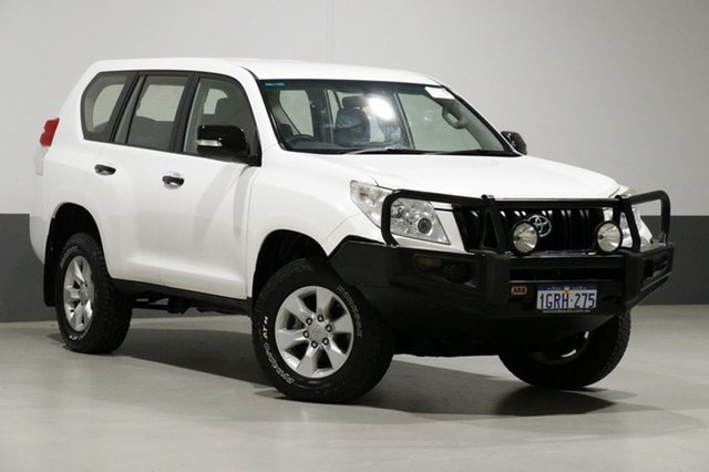 Used Toyota Landcruiser Prado KDJ150R 11 Upgrade GX (4x4), 2013 Toyota Landcruiser Prado KDJ150R 11 Upgrade GX (4x4) White 5 Speed Sequential Auto Wagon