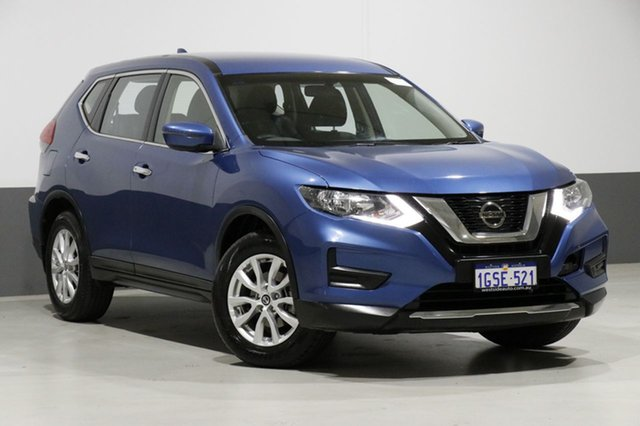 Used Nissan X-Trail T32 Series 2 ST (4WD), 2017 Nissan X-Trail T32 Series 2 ST (4WD) Blue Continuous Variable Wagon