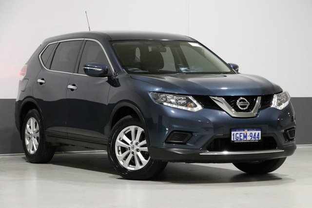 Used Nissan X-Trail T32 TS (FWD), 2016 Nissan X-Trail T32 TS (FWD) Blue Continuous Variable Wagon