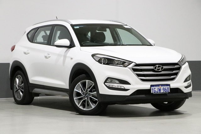 Used Hyundai Tucson TL Active X (FWD), 2017 Hyundai Tucson TL Active X (FWD) Pure White 6 Speed Automatic Wagon