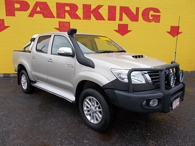 Used Toyota Hilux KUN26R MY12 SR5 Double Cab, 2013 Toyota Hilux KUN26R MY12 SR5 Double Cab Gold 5 Speed Manual Utility
