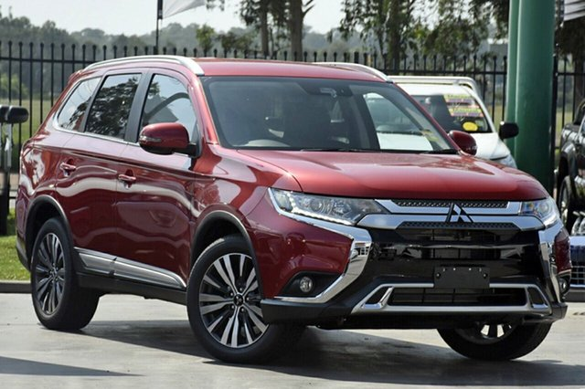 New Mitsubishi Outlander ZL MY19 LS 2WD, 2018 Mitsubishi Outlander ZL MY19 LS 2WD Red 6 Speed Constant Variable Wagon