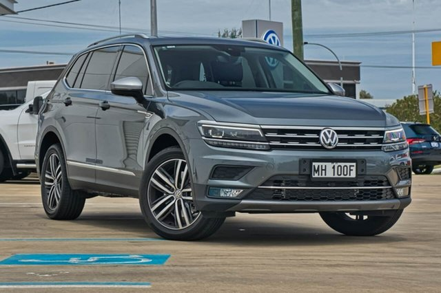 Demo Volkswagen Tiguan 5N MY18 162TSI Highline DSG 4MOTION Allspace, 2018 Volkswagen Tiguan 5N MY18 162TSI Highline DSG 4MOTION Allspace Platinum Grey 7 Speed