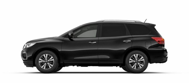 New Nissan Pathfinder R52 Series II MY17 ST X-tronic 2WD, 2018 Nissan Pathfinder R52 Series II MY17 ST X-tronic 2WD Diamond Black 1 Speed Constant Variable