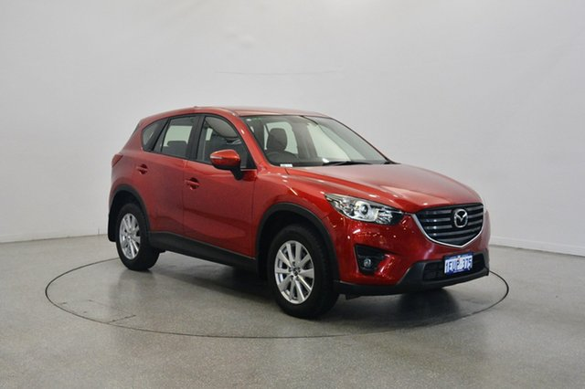 Used Mazda CX-5 KE1022 Maxx SKYACTIV-Drive AWD Sport, 2015 Mazda CX-5 KE1022 Maxx SKYACTIV-Drive AWD Sport Red 6 Speed Sports Automatic Wagon