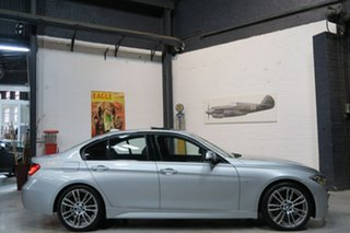2014 BMW 320d F30 MY1114 M Sport Silver 8 Speed Sports Automatic Sedan.