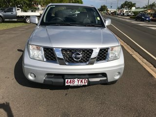 2011 Nissan Navara D40 MY11 ST-X King Cab Silver 6 Speed Manual Utility