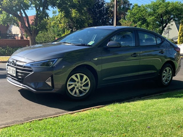 Demo Hyundai Elantra AD.2 MY19 Go, 2018 Hyundai Elantra AD.2 MY19 Go Iron Gray 6 Speed Sports Automatic Sedan