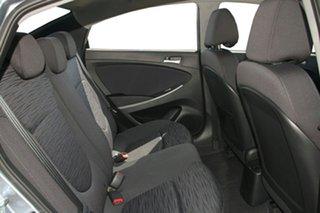 2018 Hyundai Accent RB6 MY18 Sport Lake Silver 6 Speed Manual Sedan