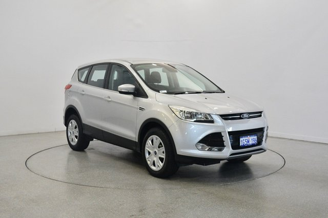 Used Ford Kuga TF MY16 Ambiente 2WD, 2016 Ford Kuga TF MY16 Ambiente 2WD Silver 6 Speed Sports Automatic Wagon