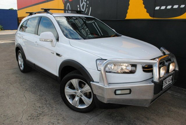 Used Holden Captiva CG Series II MY12 7 AWD CX, 2012 Holden Captiva CG Series II MY12 7 AWD CX Olympic White 6 Speed Sports Automatic Wagon