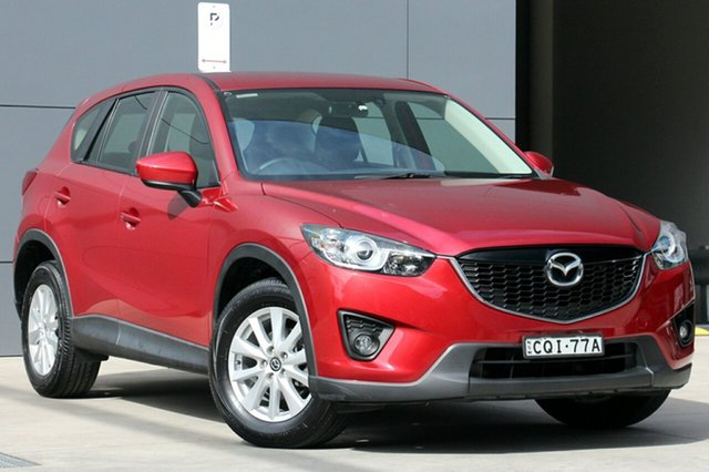 Used Mazda CX-5 KE1031 MY13 Maxx SKYACTIV-Drive AWD Sport, 2013 Mazda CX-5 KE1031 MY13 Maxx SKYACTIV-Drive AWD Sport Red 6 Speed Sports Automatic Wagon