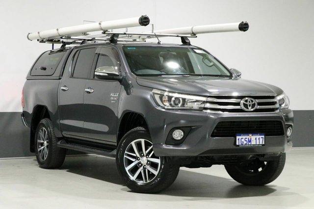Used Toyota Hilux GUN126R SR5 (4x4), 2016 Toyota Hilux GUN126R SR5 (4x4) Grey 6 Speed Manual Dual Cab Utility