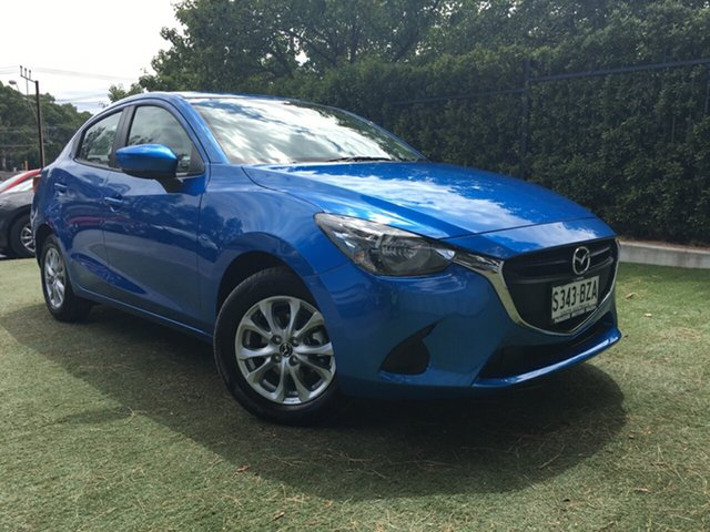 Demo Mazda 2 DL2SAA Maxx SKYACTIV-Drive, 2018 Mazda 2 DL2SAA Maxx SKYACTIV-Drive Dynamic Blue 6 Speed Sports Automatic Sedan