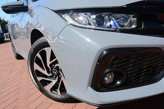 2018 Honda Civic 10th Gen MY18 VTi-S Sonic Grey 1 Speed Constant Variable Hatchback.