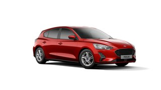2019 Ford Focus SA 2019.75MY Trend Red 8 Speed Automatic Hatchback.