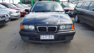 1997 BMW 3 Series E36 318i Black 4 Speed Automatic Sedan.