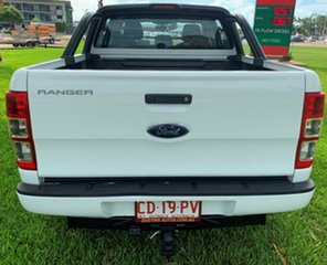 2015 Ford Ranger PX XL Double Cab White 6 Speed Automatic Utility