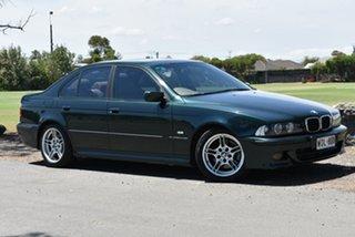 2000 BMW 5 Series E39 MY01 530i Steptronic Sport Green 5 Speed Sports Automatic Sedan