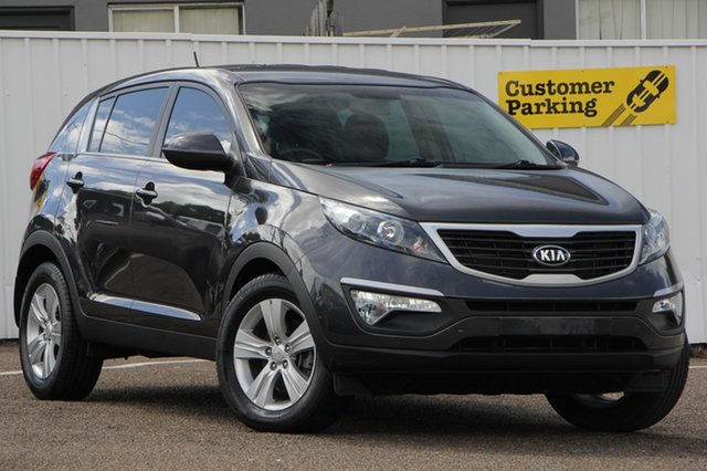 Used Kia Sportage SL Series II MY13 SI, 2013 Kia Sportage SL Series II MY13 SI Grey 5 Speed Manual Wagon