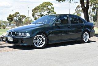 2000 BMW 5 Series E39 MY01 530i Steptronic Sport Green 5 Speed Sports Automatic Sedan.