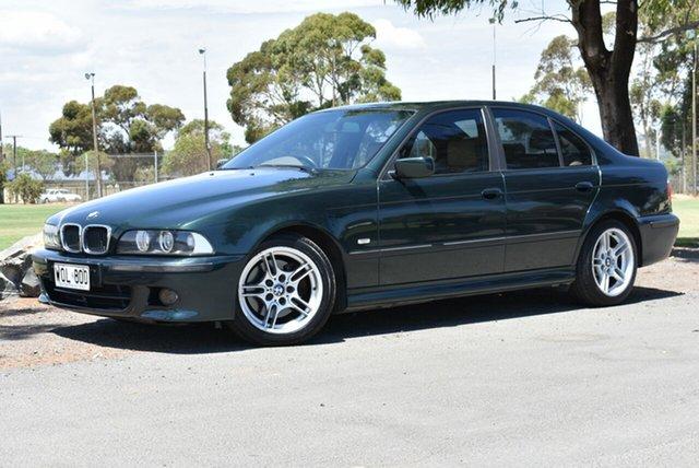 Used BMW 5 Series E39 MY01 530i Steptronic Sport, 2000 BMW 5 Series E39 MY01 530i Steptronic Sport Green 5 Speed Sports Automatic Sedan