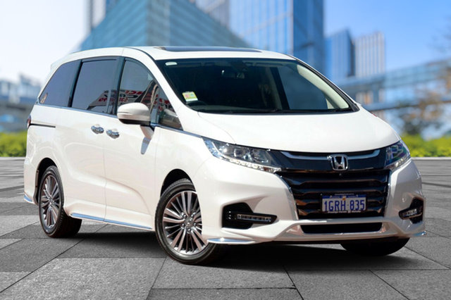 Demo Honda Odyssey RC MY19 VTi-L, 2019 Honda Odyssey RC MY19 VTi-L Platinum White 7 Speed Constant Variable Wagon