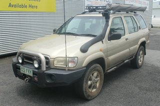 2000 Nissan Pathfinder WX II TI Gold 4 Speed Automatic Wagon.