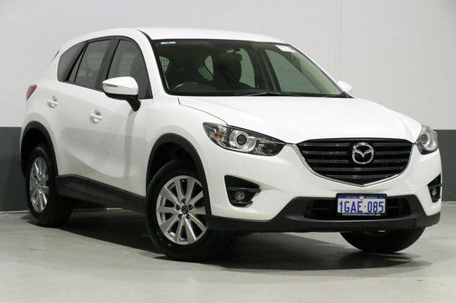 Used Mazda CX-5 MY15 Maxx Sport (4x2), 2016 Mazda CX-5 MY15 Maxx Sport (4x2) Pearl White 6 Speed Automatic Wagon