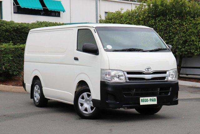 Used Toyota Hiace TRH201R MY12 LWB, 2013 Toyota Hiace TRH201R MY12 LWB White 4 Speed Automatic Van