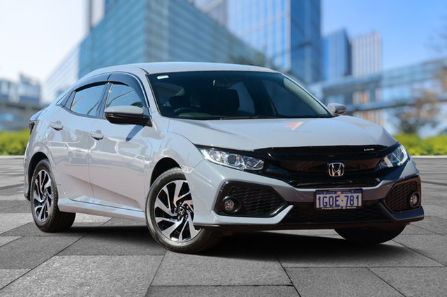 Demo Honda Civic 10th Gen MY18 VTi-S, 2018 Honda Civic 10th Gen MY18 VTi-S Sonic Grey 1 Speed Constant Variable Hatchback